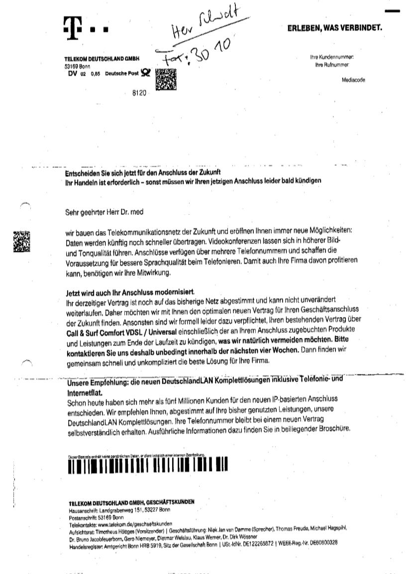Kündigigung_Telekom_Anschluss_Beispiel